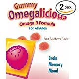 Rainbow Light Gummy Omegalicious, 30-Pack (Pack of 2)