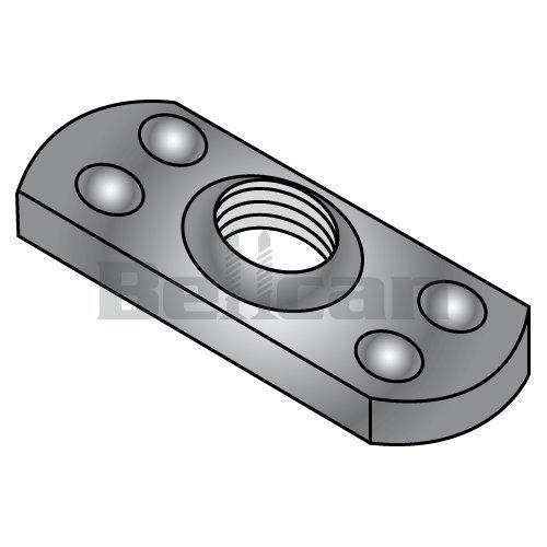 3//8-24 Weld Nuts Tab Type Multi Projections Steel 1000pcs