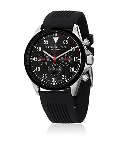 STUHRLING Reloj con movimiento cuarzo suizo Man Aviator 600 Sport 42 mm