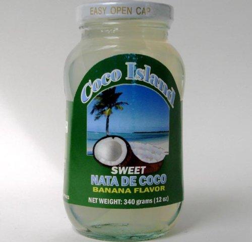 ナタデココ 340g/瓶【ココアイランド】フィリピン産