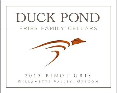 2013 Duck Pond Cellars Pinot Gris Willamette Valley St Jory Vineyard 750ml from Duck Pond Cellars