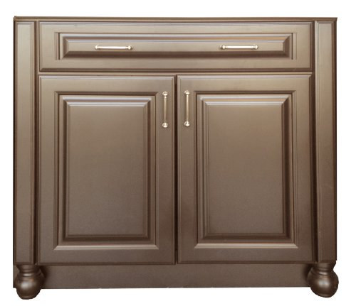 New Kitchen Cabinet Makeover Easy Do It Yourself Paint Kit Mocha Brown