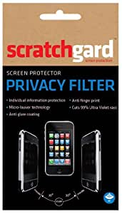 Scratchgard Privacy Filter Screen Protector for Samsung-i8530 Galaxy Beam