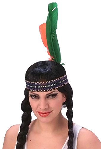 Rubie's Costume Co Men's Native American Headdress, Multi, One Size