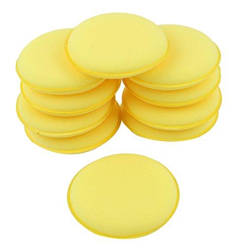sourcingmapr-10-stuck-runde-geformte-4-dia-sponge-wax-applicator-pads-gelb-fur-auto-de