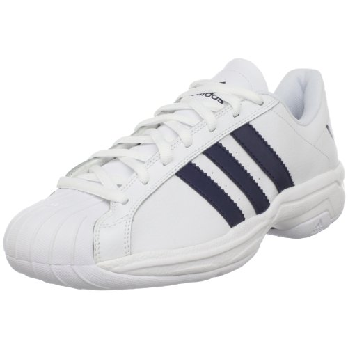 adidas Men's SS 2G Fresh Basketball Shoe,Running White/Dark Indigo/Running White,9.5 M US