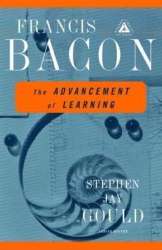 The Advancement of Learning (Modern Library Science), Francis Bacon