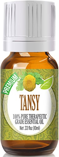 Tansy 100% Pure, Best Therapeutic Grade Essential Oil - 10ml