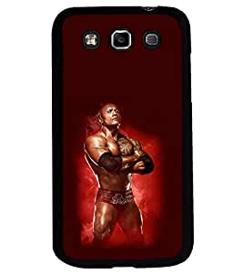 printtech WWE Rock Back Case Cover for Samsung Galaxy Quattro i8552::Samsung Galaxy Quattro Win i8552