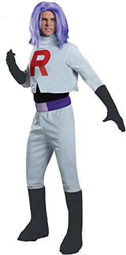 Pokemon James Team Rocket Adult Costume