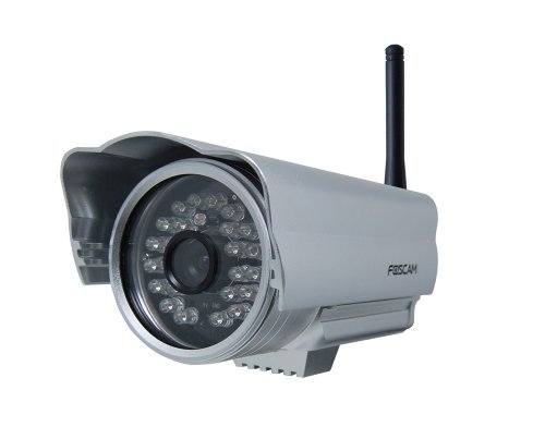Affordable Foscam Fi8904w Outdoor Wirelesswired Ip Camera 15-20 Meter Night
