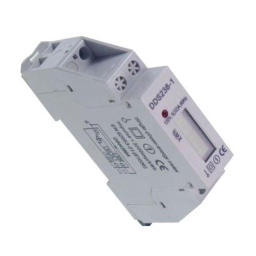 Generic Sale Ac230V 0.5W 50Hz 6 Digits Lcd Display Single Phase Din Rail Watt-Hour Meter
