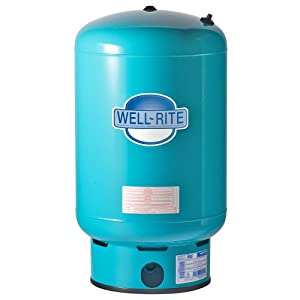 Well-Rite WR-120 Well Pressure Tank 33.4 Gallon Steel