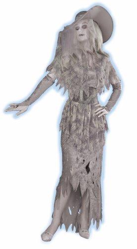 Forum Novelties Women's Ghostly Gal Costume, Gray, X-Large