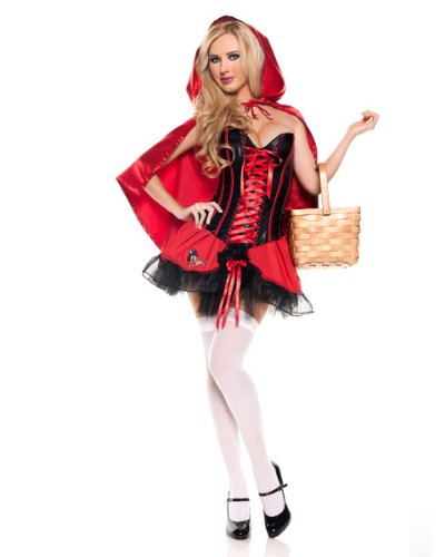 Womens Sexy Red Riding Hood Costume