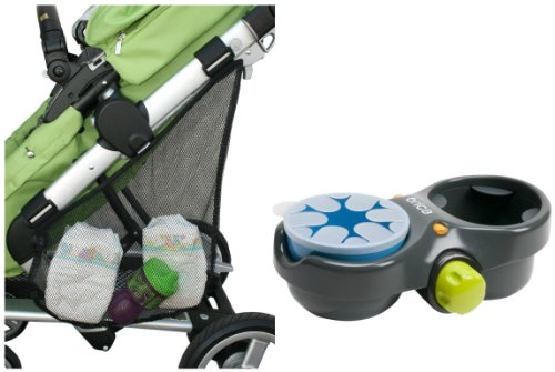 Brica Deluxe Snack Pod With Stroller Sling Organizer front-859877