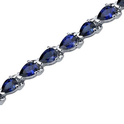 Magnificent Desire: Pear Shape Blue Sapphire