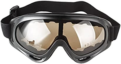 UniqueBella Outdoor Sports Unisex Bicycle Safety Eyewear Glasses Eye Protector Brown