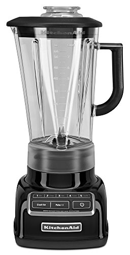 KitchenAid KSB1575OB 5-Speed Diamond Blender with 60-Ounce BPA-Free Pitcher - Onyx Black (Patented Blender compare prices)