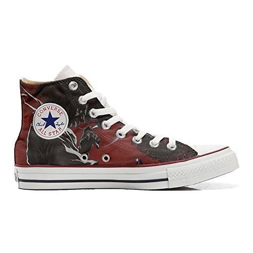 Converse All Star Chaussures Coutume (produit artisanal) Demon