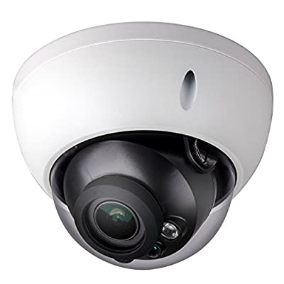 2MP 1080p HD-CVI Indoor/Outdoor Vandal Proof Dome Security Camera - 100' Feet of IR - 2.7-12mm Motorized Lens - High Definition Security Recording over Coax Cable - MUST BE USED WITH A CVI CAPABLE DVR!