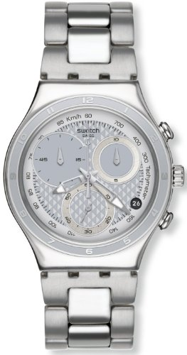 Swatch Oblique End Silver Herrenuhr YCS549G