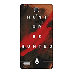 Gorgeous Hunted Multicolor Back Case Cover for Redmi Note