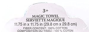 Disney Frozen Magic Towel Elsa Anna and Olaf Set of 4