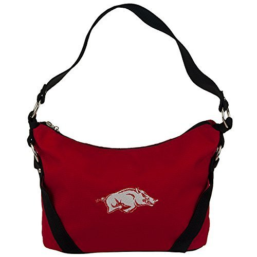 ncaa-arkansas-razorbacks-bella-polyester-handbag-small-by-sandol