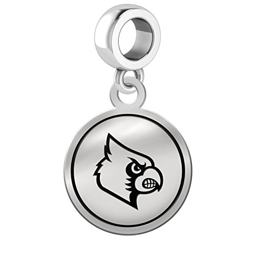 University of Louisville Cardinals Border Round Dangle Charm