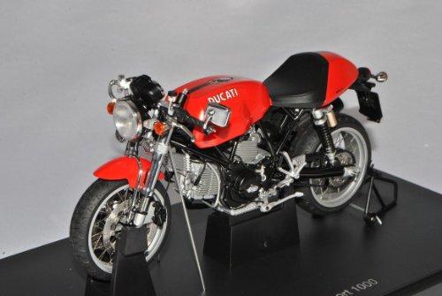 Ducati Sport 1000 Rot 2006 12551 1/12 AutoArt Modell Motorrad