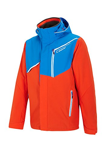 Ziener-trive-on-Veste-de-ski-BlueNew-de-Persan-Red