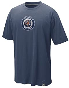Nike Detroit Tigers Cooperstown Washed Logo Shirt by Nike