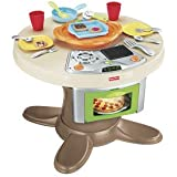 Fisher-Price Servin' Surprises Kitchen & Table With Bonus Ice Cream Set Combo