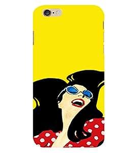 EPICCASE Happy Model Back Case Cover For Apple iPhone 6/6s (Designer Case)