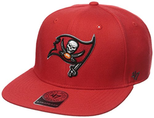 Youth Tampa Bay Buccaneers  Red Cuffed Knit Hat with Pom