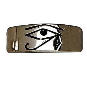 Sterling Silver The Eye of Horus Ring Women's Men's Jewelry (8) Amazon