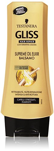 Testanera - Gliss Hair Repair, Balsamo con Nutritive Oil Elixir - 200 ml