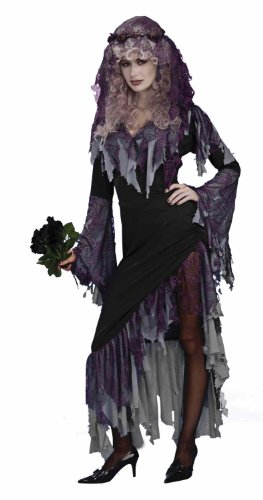 Women's Zombie Bride Costume