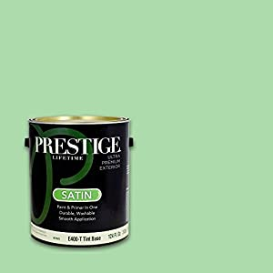 Prestige Exterior Paint And Primer In One 1 Gallon Satin Brand