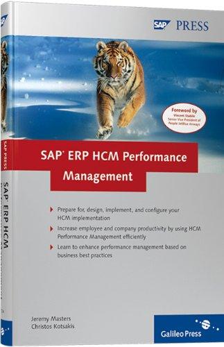 SAP ERP HCM Performance Management