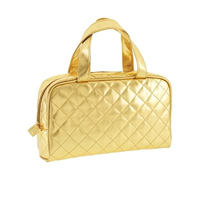 Cheapest Danielle Carry All Cosmetic Bag in Gold Look by Danielle - Free Shipping Available