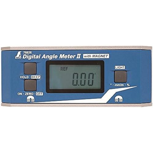 Sinwa 측정 디지탈 앵글 미터II 방진 방수 마그넷 부착 76826-76826 (2014-09-10)
