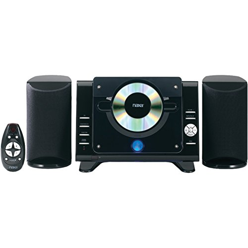 NAXA Electronics Digital CD Microsystem with AM/FM Radio (Tabletop Stereo Cd compare prices)