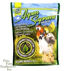Image of Kaytee Products Aspen Supreme Bedding For Birds & Small Animals 50lb (B0051XWY28)