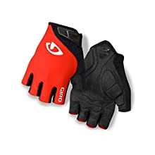 Giro Jag Bike Gloves (Red, L) - Men's