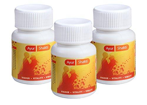 Ayur Shakti (Men Power Capsule), 500 Mg, 30 Capsule ( Pack Of Three )