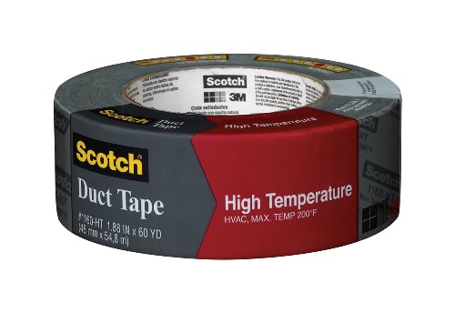 Scotch High Temperature Duct Tape, 1.88-Inch by 60-Yard image
