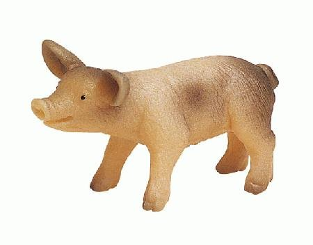 Bullyland Spotted Piglet Plastic Toy Figure - 1