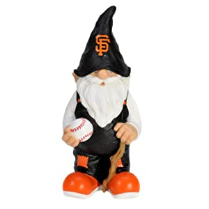 MLB San Francisco Giants Garden Gnome by Forever Collectibles
